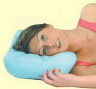 Putnams' The Royal Visco Memory Foam Pillow, no more neck strains