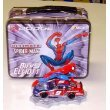Bill Elliott Ultimate Spiderman #9 Dodge 1:64 stock car and figurine inside lunch box by Action
