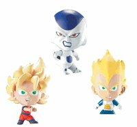 Buy Low Price Jakks Pacific Dragonball Z Chibis Action Figure 3 Pack: Ss Goku – Ss Vegeta – Frieza (Exclusive) (B000J4IRPW)
