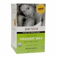 Parissa Cane Sugar Organic Wax for Legs, Body & Face, 8 fl oz - 2pc
