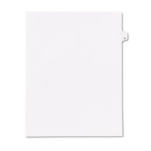 kleer-faxr-90000-series-legal-exhibit-index-dividers-side-tab-printed-30-25-pack-sold-as-1-pack-helv