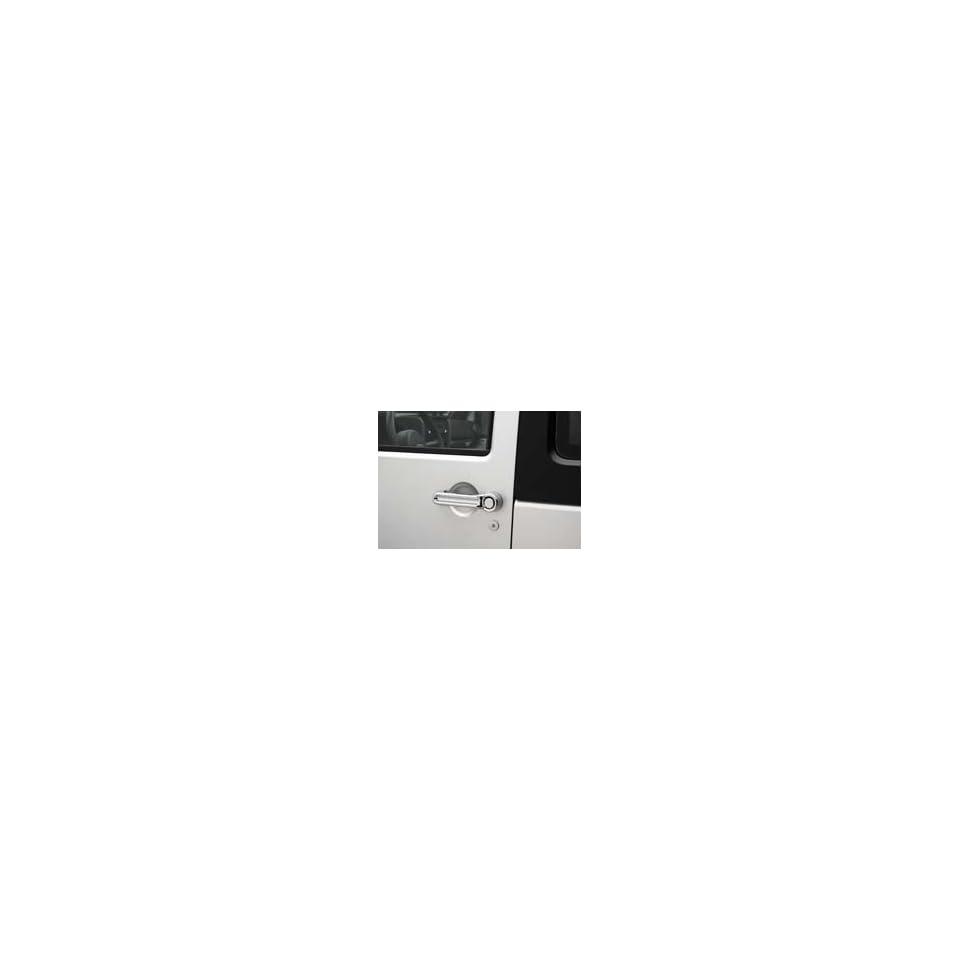 Jeep Wrangler 4 Door Chrome Door Handle Kit Automotive