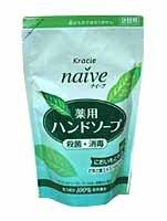 ナイーブ 薬用ハンドソープ お茶の葉 詰替 200