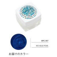 MEMORY PRO サロン向けカラージェル 11ml MPCー057・RICH BLUE PEARL 0924920