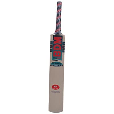 BDM Tennis Pro Covered Painted Cricket Bat, Short Handle