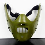 Halloween Costume Make-up Fancy Props Silence of the Lambs Hannibal Mask (Green)