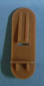 Shelf Support 1 4 X 1 2 Tan 60 Bag 3249t Home Kitchen