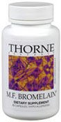 Thorne Research M.F. Bromelain, 60 Vegetarian Capsules