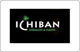 Ichiban Hibachi & Sushi Gift Card ($125) front-1014877