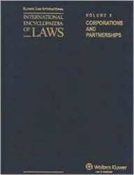 International Encyclopaedia of Laws: Corporations and Partnerships: Supplement 39