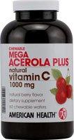 American Health Mega Acerola 1000mg 60 Waf 1-ea