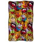 Best Review Of The Muppets Micro Raschel Throw/Blanket 46 x 60