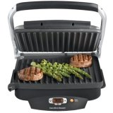 Hamilton Beach Steak Lover foots 25331 Electric Grill-100 Sq. inch. Cooking Area-by HAMILTON BEACH