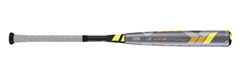 "887768357771 - Wilson DeMarini CF8 League Baseball Bat, 31""/26 oz, Gunmetal/Yellow/Orange carousel main 1"