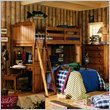 Lea Jackson Creek Loft Bed 4 Piece Bedroom Set
