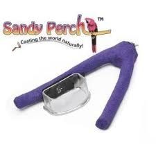 Sandy Perch Fork with Cup - Small
