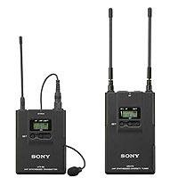 Sony UWPV1 Lavalier Microphone, Bodypack Transmitter & Portable RX Wireless System, Operating on TV Channels 42 to 45