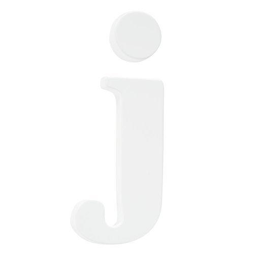 Koala Baby Lowercase Wall Letter J - White