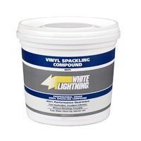 Buy Vinyl Spackling, 1/2 Pt (White Lighting Product Painting Supplies,Home & Garden, Home Improvement, Categories, Painting Tools & Supplies, Wallpaper Supplies, Wall Repair, Spackle)
