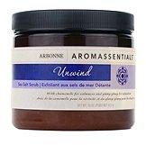 Arbonne Aromassentials Unwind Bath Salts Size is 16 oz.