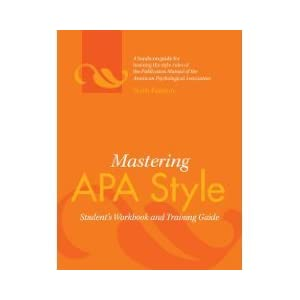 Literature Review Apa 6Th Edition