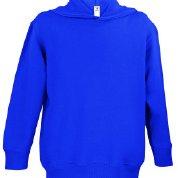Rabbit Skins Fleece Blank Toddler Pullover Fleece Hoodie [Size 2T] Purple Long Sleeve Sweatshirt