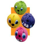 Pet Supply Imports Latex Small Face Ball Dog Toy Assorted