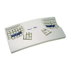 Kinesis Ergonomic Essential Keyboard, PC, White
