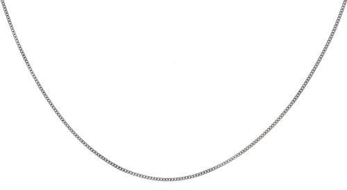 Diamond Chain Necklace in 9ct White Gold