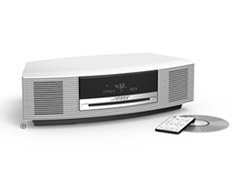 bose kitchen radio. bose wave music system - platinum white ! kitchen radio
