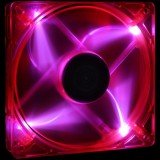 Sharkoon UV Reactive Strobe Fan 80mm Red