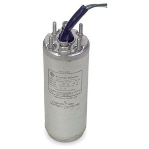 Subm Pump Mtr, 1Ph, 3/4Hp, 230V, 4 In, 3 Wire