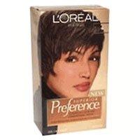 LOreal Preference Hair Color - #4 Dark Brown - 1 Each