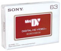 Buy Bargain Sony DVM63 HD DVC Mini Tape - 5 Pack