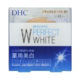 DHC Medicinal W Perfect White Powder Foundation Natural Ochre 01 10g
