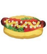 """Betallic 15657 Hotdog Shape Foil Flat, 32"""" - 1"""