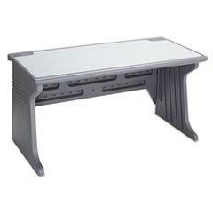 ** Aspira Modular Desk, Resin, 60w x 28d x 30h, Charcoal