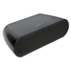 Bluetooth Speakers, Black, Powered by 8x AA Batteries or Included 12V Power Adapter, 10 meter/33 f -