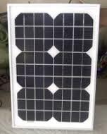 GEE SEVEN SOLAR 15 Wp 12 Volt Monocrystalline Solar Panel