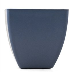 Biodegradable Bamboo Flower Pot Blue 6""