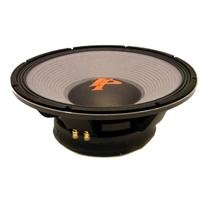 "Technical Pro Z18.1 18"" Raw Subwoofer, Black"