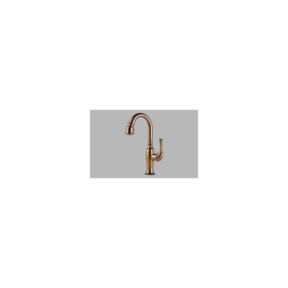 Brizo 64903LF BZ   Talo Single Handle Pull Down Bar/Prep Faucet With Smarttouch(R) Technology   Bru