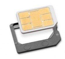 Nano SIM サイズ AU 対応 AU iPhone 専用 アクティベート カード  3G/3GS/4/4S 全 iOS 対応 MS オリジナル Activation Card ( SIM カード 変換 アダプタ 3種類付属)