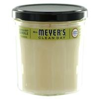 Mrs. Meyers Clean Day, Scented Soy Candle, Lemon Verbena, 7.2 oz (200 g)