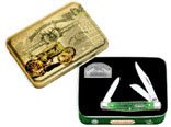Buy John Deere Medium Stockman Knife W Tin - 5837 Jdeere Med Stockman Knife