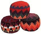 Hacky Sack~ Set of 3 ~ Assorted Colors ~ High Quality ~ Imported From Guatemala - 1