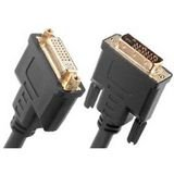 Link Depot 6-Feet Gold Plated DVI-D Male to DVI-D Female Dual Link Cable (DVI-6-DDMF)