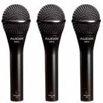 Audix Om2-Trio Bulk Lot Package Of 3-Om2S (Om 2) Microphone