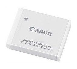 Original Akku für Canon Typ NB-6L Original, Li-Ion, 3,7V