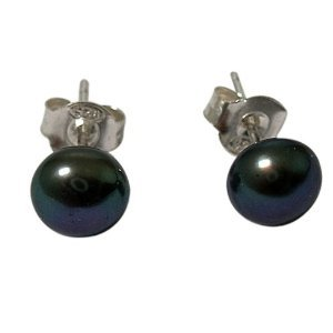 cultured-freshwater-pearl-7-8-mm-earrings-4-colours-925-silver-black